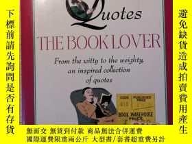 二手書博民逛書店quotable罕見quotes the book loverY227053 robert avons 出版