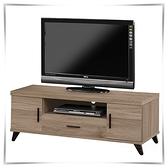 【水晶晶家具/傢俱首選】ZX1342-4珂琪120cm木心板電視櫃