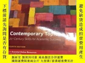 二手書博民逛書店Contemporary罕見topics 3Y472736 David Beglar Person Educa