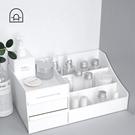 收納盒 梳妝臺文具雜物整理盒抽屜式大號置物架【新品上架】