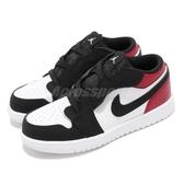 Nike Air Jordan 1 Low ALT TD Black Toe 黑 紅 喬丹 飛人 AJ1 童鞋 小童鞋 運動鞋【PUMP306】 CI3436-116