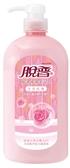 脫普純淨保濕沐浴乳-天然玫瑰800g