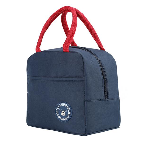 BUBM小熊便當袋 午餐野餐手提袋 保溫保冰袋 大容量(BWT-01)