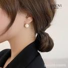 耳環 珍珠耳釘特別設計感小眾網紅爆款耳飾新款潮高級感純銀耳環女 星河光年
