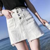 大碼半身裙胖mm夏季 胖妹妹寬鬆高腰正韓200斤牛仔裙子潮優樂居生活館