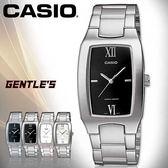 CASIO手錶專賣店 卡西歐  MTP-1165A-1C2 男錶  羅馬字 魅力酒桶型 礦物防刮玻璃 不鏽鋼外殼錶帶