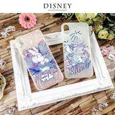 Disney迪士尼iPhone X/Xs五彩貝殼系列手機殼_叢林風
