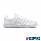 【超取】K-SWISS Court Winston時尚運動鞋-男-白/灰