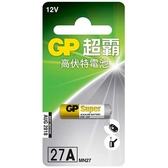 GP 超霸 高伏特電池 27A 1入