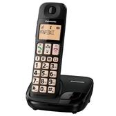 Panasonic國際牌 DECT數位無線電話KX-TGE110TW 2017年新機上市 / 大按鈕大字鍵