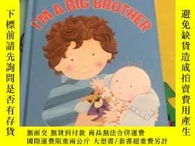 二手書博民逛書店I m罕見a Big Brother Y978006190065