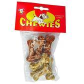 【 培菓平價寵物網】 《沛貝兒CHEWUES》 D-33 1.75吋迷你脆皮骨(6入)*1包