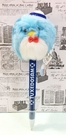 【震撼精品百貨】Tuxedo Sam Sanrio 山姆藍企鵝~造型絨毛原子筆-深藍*01743