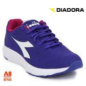 【Diadora 迪亞多那】女款 休閒運動鞋-紫色(D7864)全方位跑步概念館