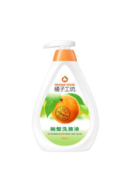 橘子工坊 碗盤洗滌液 500ml *6罐