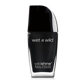 wet n wild 瘋狂絢亮指甲油-時尚深黑 12.3ml