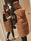 羽絨棉馬甲女秋冬季中長款新品背心馬夾外套坎肩韓版