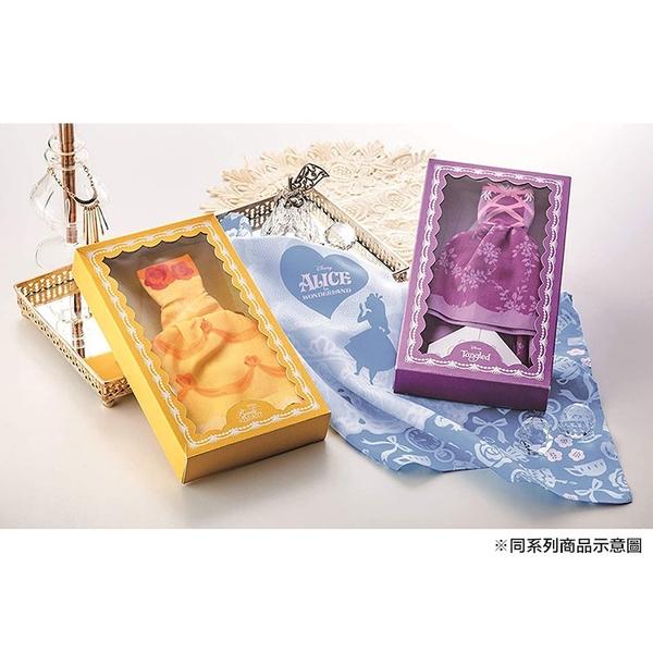丸真 盒裝手帕 迪士尼 迪士尼 樂佩 洋裝 紫_RS66148