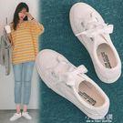 秋季平底基礎小白鞋女鞋春季2019新款百搭韓版休閒板鞋白鞋子『小淇嚴選』