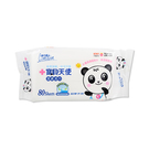 Carnation 康乃馨 寶貝天使 潔膚濕巾(厚) 80抽【BG Shop】濕紙巾 柔濕巾