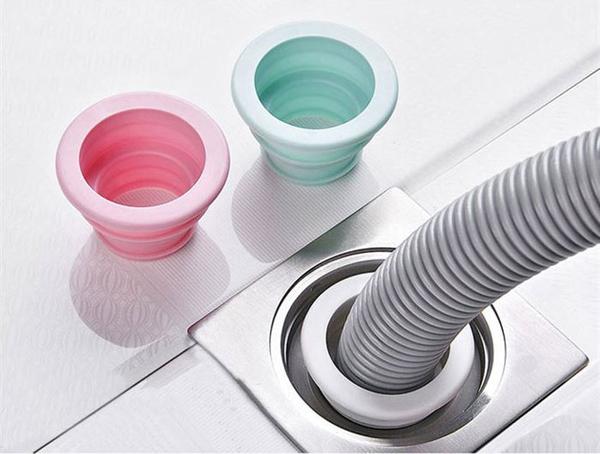 【加長型密封圈】排水管矽膠密封塞 下水管道地漏塞 防蟲防臭下水道排水孔洗衣機陽台浴室廚房