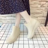 雨靴 時尚女士防水鞋日系雨鞋女短筒春秋冬雨靴廚房成人防滑膠鞋