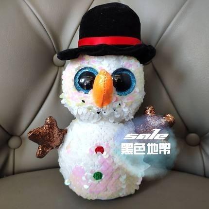 雪人玩偶 雪人大全scoop buttons雪人毛絨玩具娃娃玩偶冬季