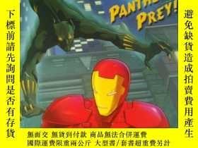 二手書博民逛書店Panther s罕見Prey! (Marvel: Iron M