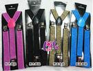 來福,k655吊帶成人吊帶三夾2.5cm銀絲男女背帶吊帶褲帶夾的,售價100元