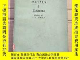 二手書博民逛書店the罕見physics of metals 1 electrons(P1659)Y173412