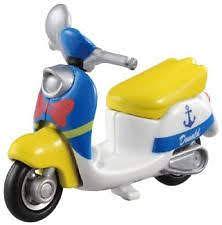 TOMICA  BIKE TAXI  ChimChim Donald Duck 4904810108016