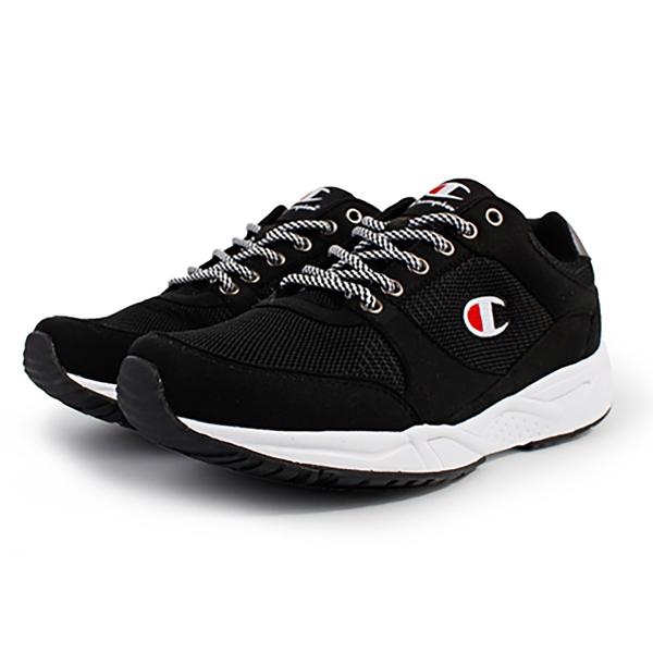 9S-Champion HONEST 復古 慢跑鞋 男款 MFUS-9019-02 黑