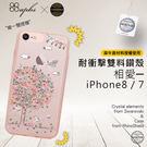 apbs 施華洛世奇 X 犀牛盾雙授權耐衝擊雙料水晶保護殼 - 相愛 iPhone 7/8  [ WiNi ]