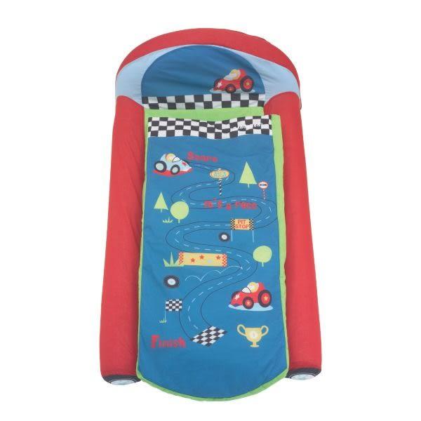 mothercare 藍色車子充氣床