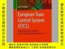 二手書博民逛書店European罕見Train Control System (Etcs)Y405706 Lars Schni