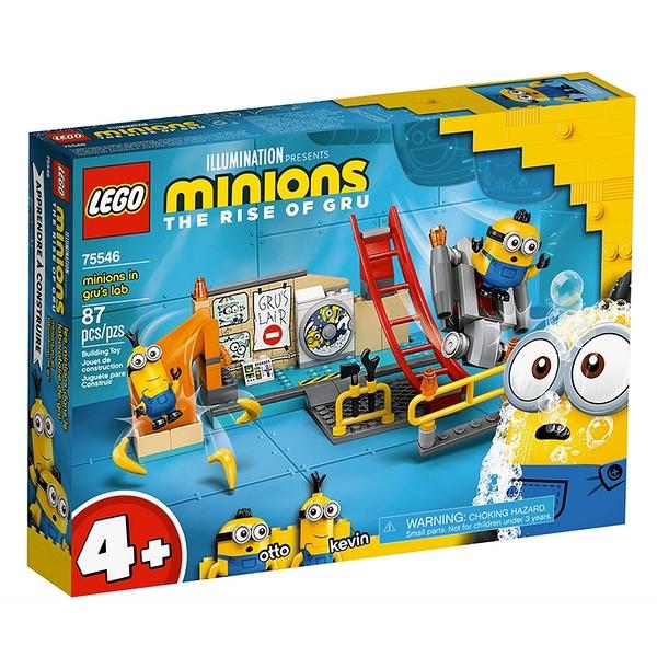 LEGO樂高 小小兵電影系列 Minions in Gru's Lab_ LG75546