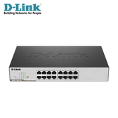 【D-Link 友訊】DGS-1100-16 Layer 2 Gigabit 簡易網管型交換器 【加碼送環保軟毛牙刷】