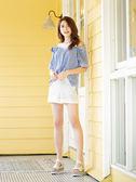 春夏7折[H2O]有挺度超顯瘦彈性棉感百搭短褲 - 黑/白/灰色 #9688012