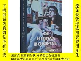 二手書博民逛書店人性的枷鎖罕見毛姆作品 Of Human Bondage 經典名