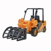 力利慣性運輸伐木抓木車仿真工程車玩具模型兒童寶寶抓車挖掘機