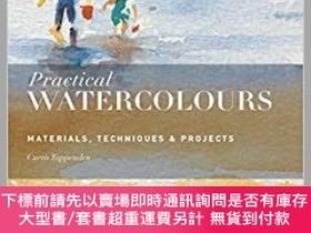 二手書博民逛書店Practical罕見Pastels: Materials, Techniques & Projects實用蠟筆畫
