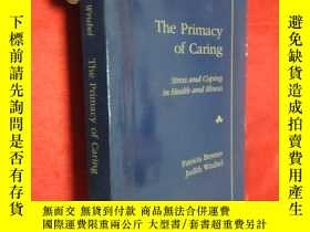 二手書博民逛書店The罕見Primacy of Caring: Stress a