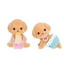 森林家族 玩具貴賓狗雙胞胎_EP21980