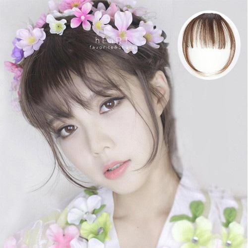 韓系空氣劉海鬢角假髮片 髮型用品 髮片 瀏海髮片 仿真假髮