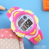 兒童錶 兒童手錶男孩女孩防水夜光中小學生手錶男童運動電子錶女童手錶女  喜迎新春