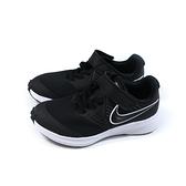 NIKE STAR RUNNER 2 運動鞋 魔鬼氈 黑色 中童 童鞋 AT1801-001 no033