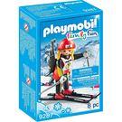 playmobil 滑雪系列 女孩冬季兩項滑雪員_PM09287