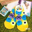 迪士尼 TSUM TSUM 疊疊樂 怪獸大學 毛怪 大眼仔 短襪 造型襪 襪子 直版襪 COCOS JI039