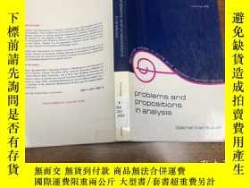 二手書博民逛書店Problems罕見and Propositions in An