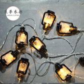 彩燈LED燈串北歐風ins裝飾掛燈復古小燈房間宿舍臥室小燈串 雙12快速出貨八折